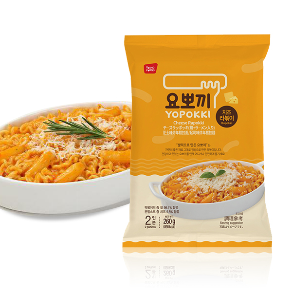 YOPOKKI起司味年糕拉麵 兩人份