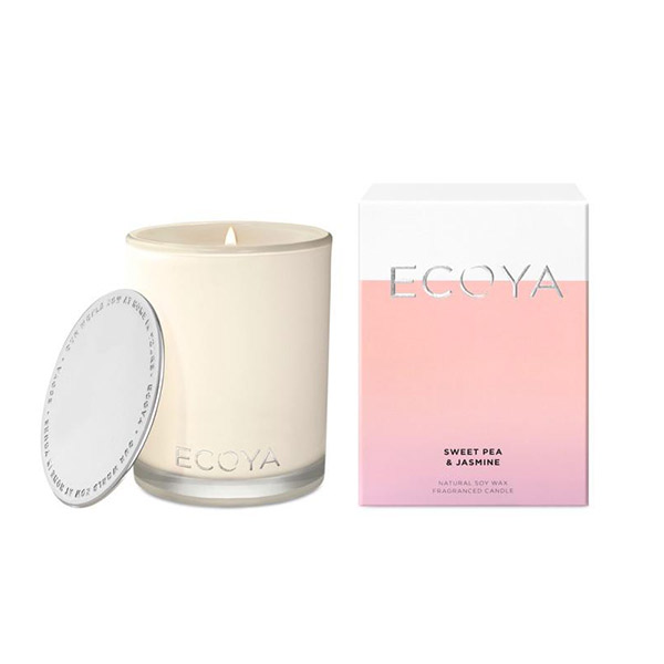 Ecoya 甜豌茉莉 高雅香氛精油蠟燭  400g