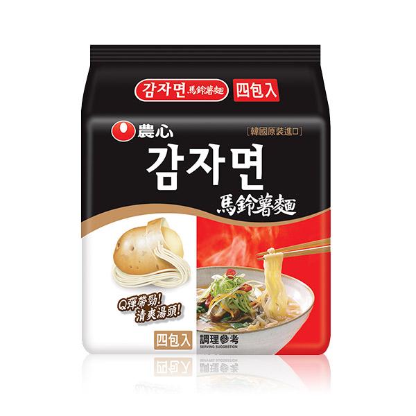 農心 馬鈴薯麵-4入