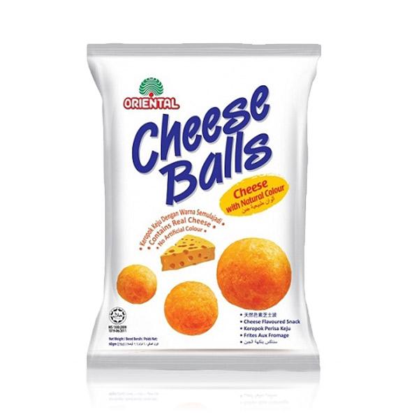 東方芝士球(家庭號) 馬來西亞,東方芝士球,起司球,起司餅乾,玉米餅乾,餅乾,零食,起司粉,玉米球