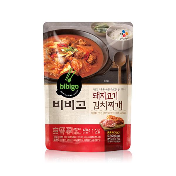 bibigo 豬肉泡菜鍋460g
