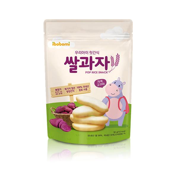 ibobomi嬰兒米餅(紫薯味)