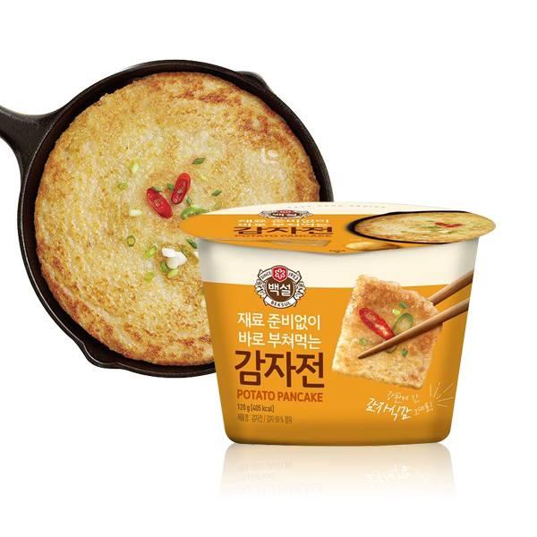 (贈品)韓國CJ 白雪馬鈴薯煎餅粉 (杯裝) 120g