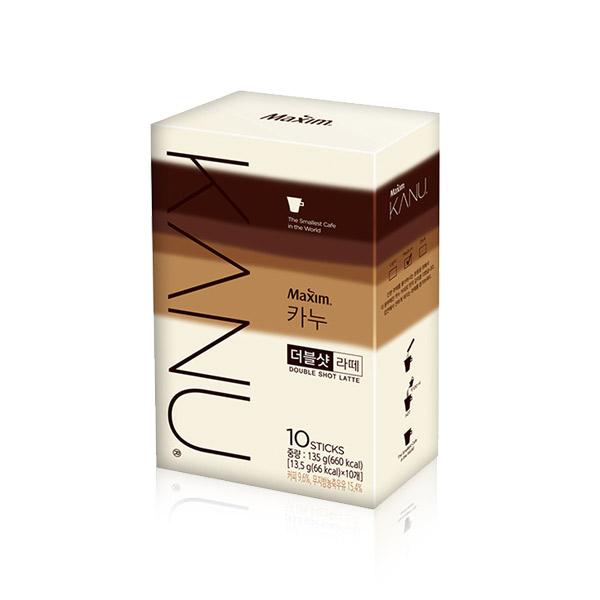 KANU 無糖雙倍濃縮拿鐵咖啡(10T)