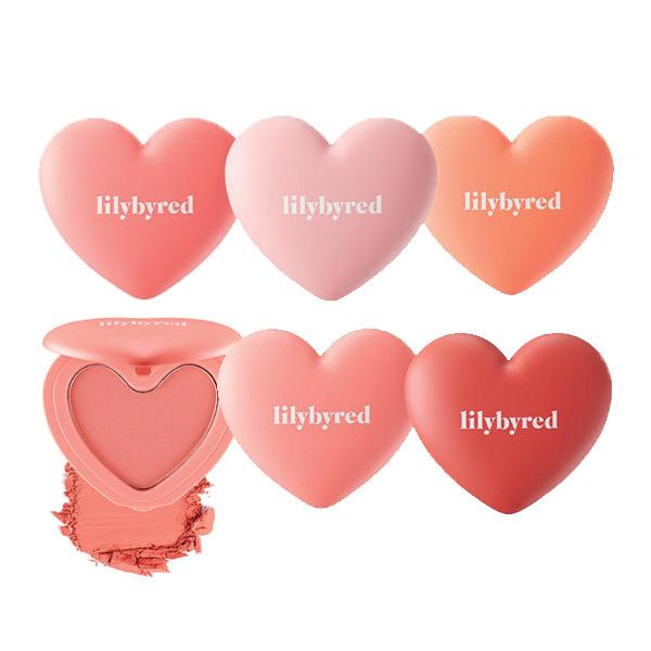 Lilybyred 甜美心型腮紅4.7g
