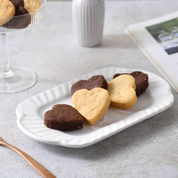 杏仁手工餅乾-16入(英式8+黑巧克力8)