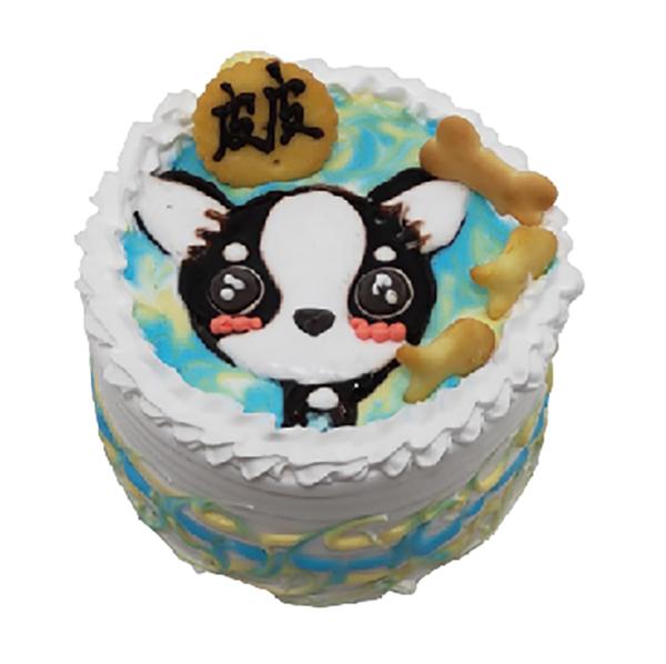 吉娃娃-4-吋蛋糕