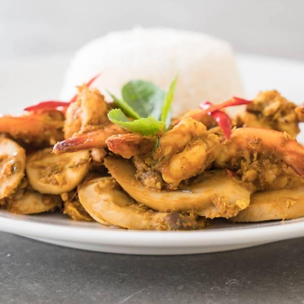 綠咖哩魚膘 鯖魚,綠咖哩,魚膘,泰式,食譜,料理