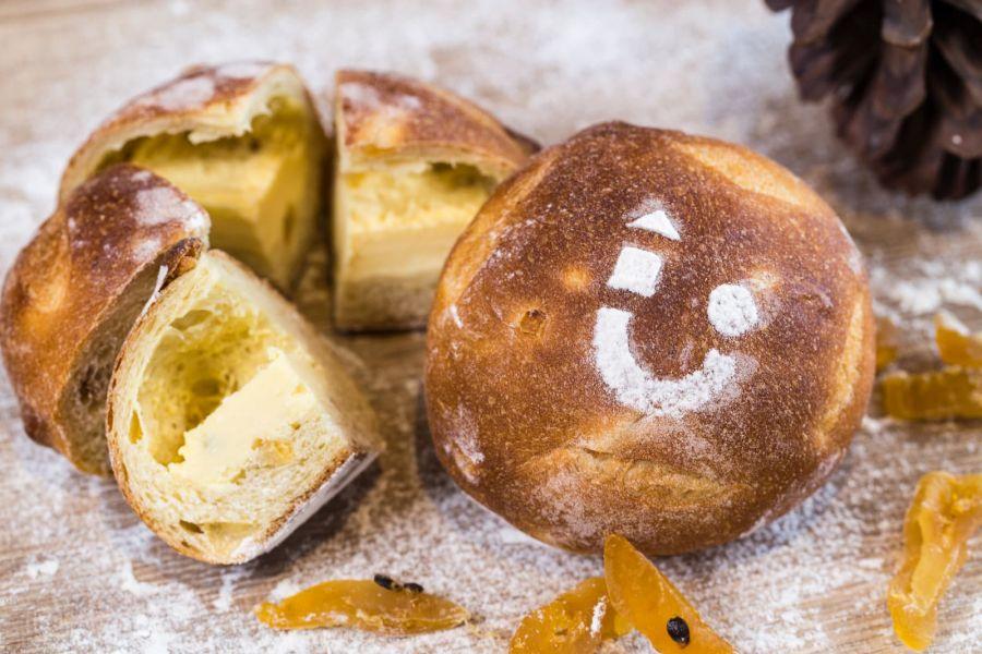 百香果乳酪麵包 手工麵包,孩子的書屋 百香乳酪麵包,百香果麵包
