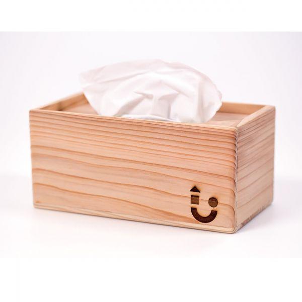手工原木面紙盒 手工原木面紙盒
