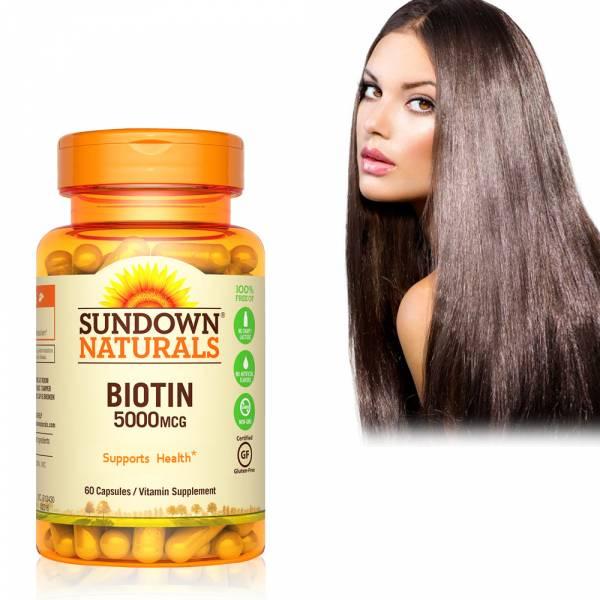 【即期品】高單位生物素5000mcg(60粒/瓶)_效期至2021/6/30 掉髮,禿頭,生物素,維生素H,新陳代謝