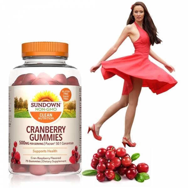【即期品】50倍濃縮蔓越莓軟糖(75粒/瓶)_效期至2021/8/31 蔓越莓,軟糖,私密防護,覆盆子
