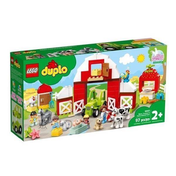 Duplo-農場動物照護中心豪華組/L10952 LEGO10952 樂高積木 得寶系列 Duplo,農場動物照護中心豪華組,LEGO10952,樂高積木 得寶系列