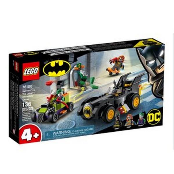 DC-蝙蝠俠對決小丑:蝙蝠車追逐/L76180 樂高積木,DC-蝙蝠俠對決小丑:蝙蝠車追逐,LEGO76180