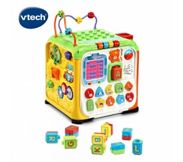 5合1多功能字母感應積木寶盒/505000/英國Vtech Vtech,幼教,發展玩具,早教