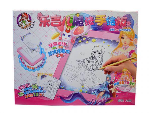 樂吉兒小花仙魔法手繪板 彩色畫板 中型尺寸/L046 限時特賣
