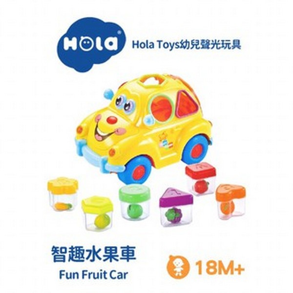 匯樂智趣碰轉聲光水果積木車/516-2 限時特賣,幼教,水果,積木車,聲光,手眼協調,觸覺,辨識