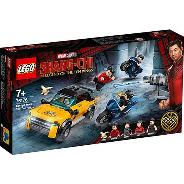 Marvel-尚氣 逃離十環/L76176 樂高積木,Marvel-尚氣 逃離十環,LEGO76176
