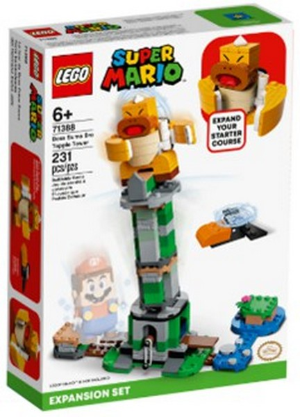 Mario-老大KK 搖搖塔- 樂高積木/L71388 Mario-老大KK 搖搖塔- 樂高積木,LEGO71388