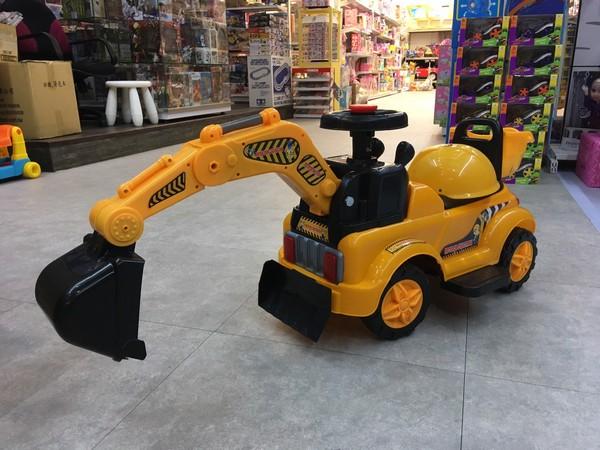 小型電動全功能挖土機/RT-5188 兒童電動工程車,電動挖土機,聲光音效,油門可控