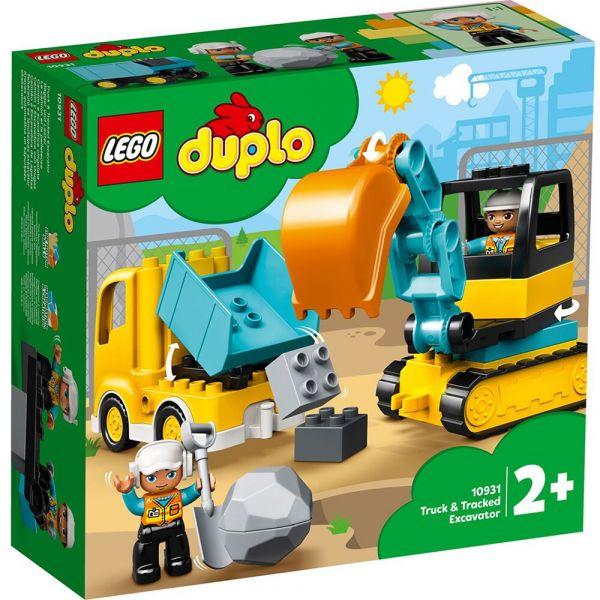 DUPLO-卡車&挖土機/L10931 樂高積木,DUPLO-卡車&挖土機,LEGO 10931