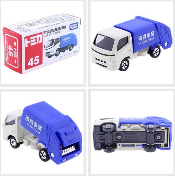 豐田垃圾車(藍)/741374/TM045/TOMICA 045多美 火柴盒小汽車 豐田垃圾車,(藍),TM045,TOMICA,多美,火柴盒小汽車,4904810741374