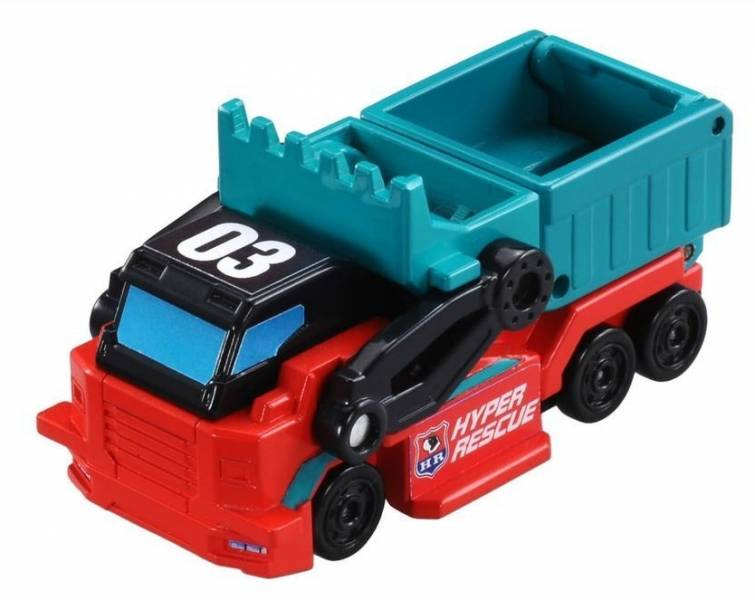 AC03 一秒變形車-清運車/TM12995 4904810129950,AC03 一秒變形車,清運車,TM12995