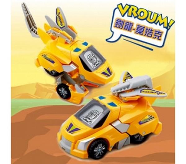 劍龍-莫浩克 Vtech 聲光變形恐龍車/122300 Vtech,幼教,發展玩具,早教