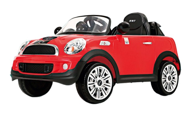 # Mini Cooper S Coupe紅色-單驅-2.4G遙控/緩起步/馬克文生 兒童電動車,電動四輪,mini cooper,馬克文生
