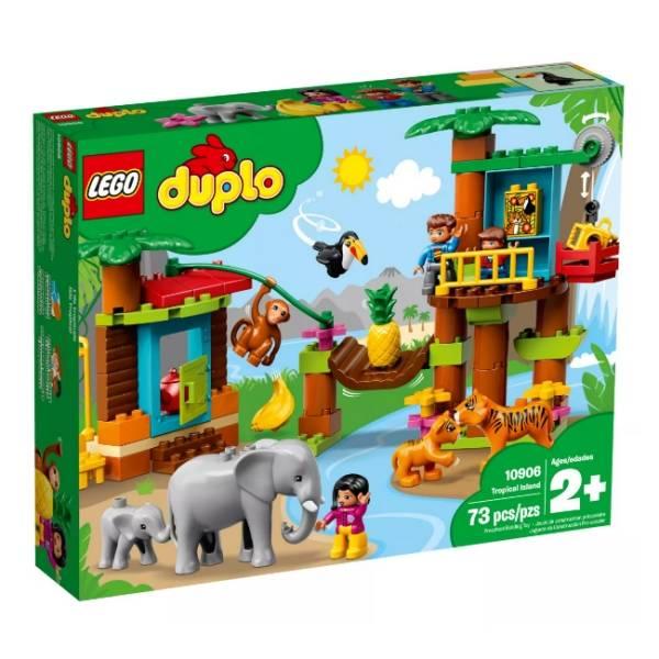 Duplo-熱帶島嶼/LEGO10906/樂高積木 Duplo,熱帶島嶼,LEGO10906,樂高積木