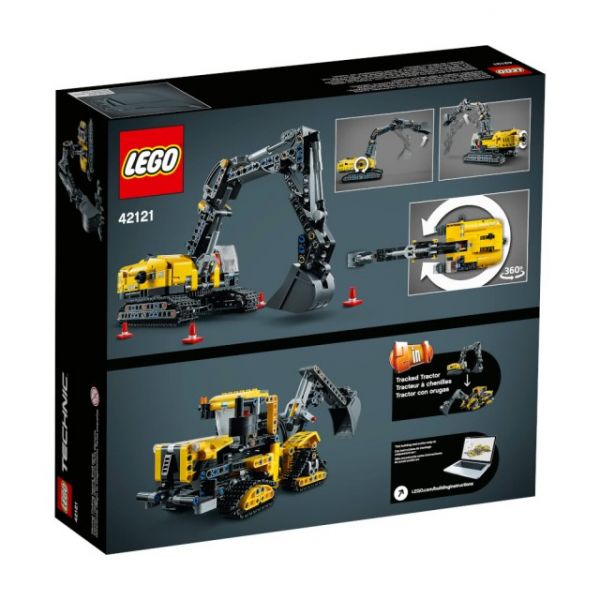 Tech-重型挖土機/L42121 樂高積木 Tech,重型挖土機,LEGO 42121,樂高積木