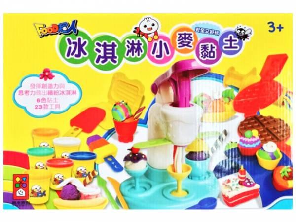 冰淇淋小麥黏土-FOOD超人/203650 Food超人,包子,水餃,燒餅,粽子,蒼蠅