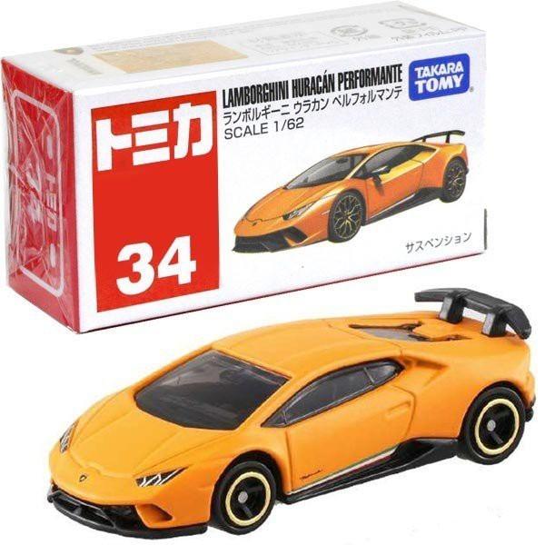 藍寶堅尼HURACAN 橘 TM034_879947 代理版 TOMICA 多美 火柴盒小汽車 藍寶堅尼HURACAN,TM034,代理版,TOMICA,多美,火柴盒小汽車,4904810879947