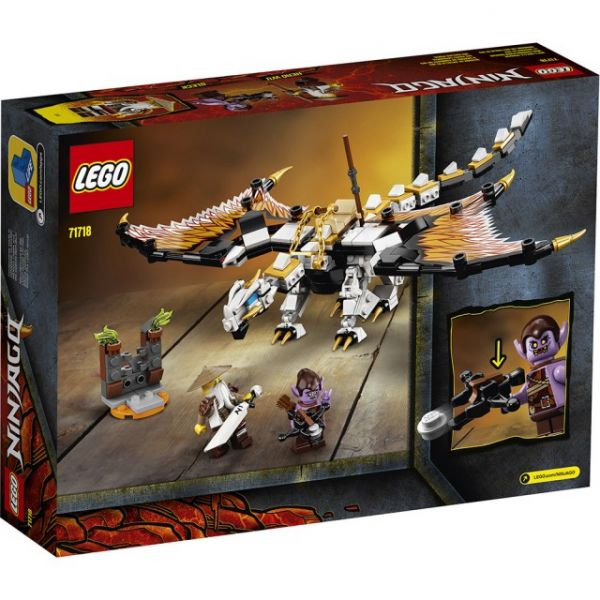 Ninjago-吳大師的戰鬥龍 炫風忍者系列/L71718/LEGO 樂高積木,Ninjago-吳大師的戰鬥龍 炫風忍者系列,LEGO