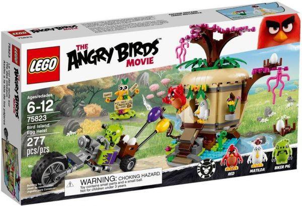 Bird Island Egg Heist/L75823-樂高積木 ANGRY BIRDS 憤怒鳥-LEGO 75823 樂高積木,樂高積木 ANGRY BIRDS 憤怒鳥