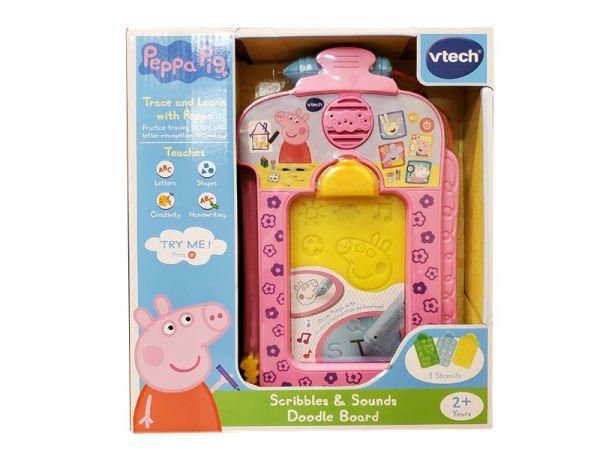 粉紅豬小妹-音樂字母感應學習畫板/198000/英國Vtech Vtech,幼教,發展玩具,早教