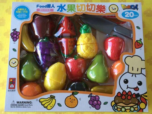 水果切切樂-FOOD超人/204466 Food超人,包子,水餃,燒餅,粽子,蒼蠅
