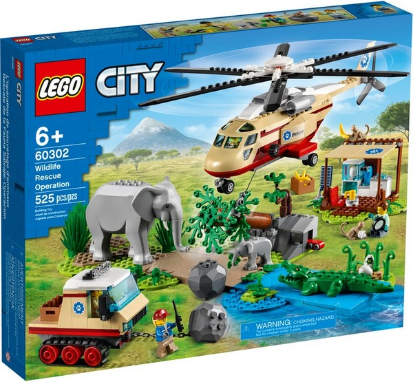 City-野生動物救援行動/L60302/LEGO樂高積木 City-野生動物救援行動,LEGO60302,樂高積木,LEGO