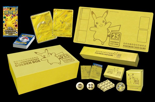 【預購】25週年黃金紀念箱/寶可夢集換式卡牌遊戲/PTCG 預購,25週年,黃金紀念箱,寶可夢集換式卡牌遊戲,PTCG