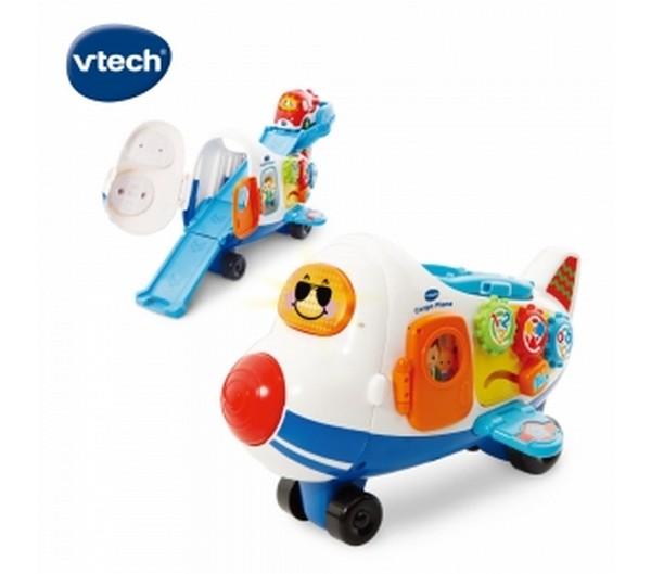 嘟嘟車系列-酷炫巨無霸飛機軌道組/503103 Vtech,幼教,發展玩具,早教