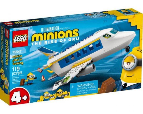 Minions-飛行員訓練/L75547 樂高積木,Minions-飛行員訓練,LEGO75547