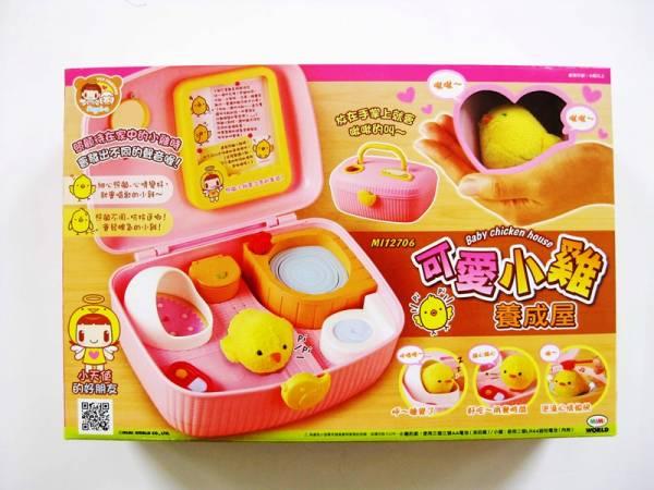 可愛小雞養成屋/MI12706 女孩玩具 可愛小雞養成屋,療癒小物,電子雞