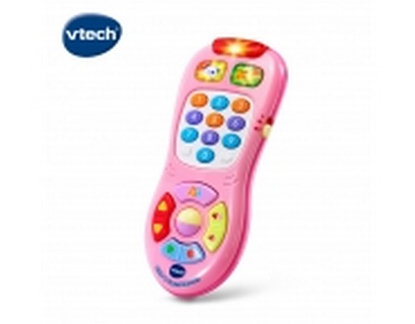Vtech 寶貝搖控器-粉/150350 Vtech,幼教,發展玩具,早教