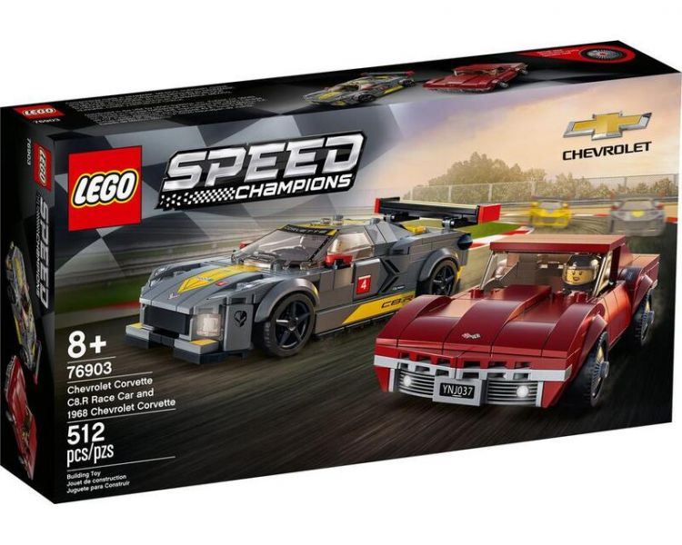 Speed-雪佛蘭C8.R & 1968/L76903 樂高積木 Speed,雪佛蘭,C8.R,L76903,樂高積木