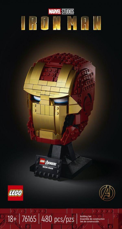 Iron Man Helmet/L76165 樂高積木,Iron Man Helmet