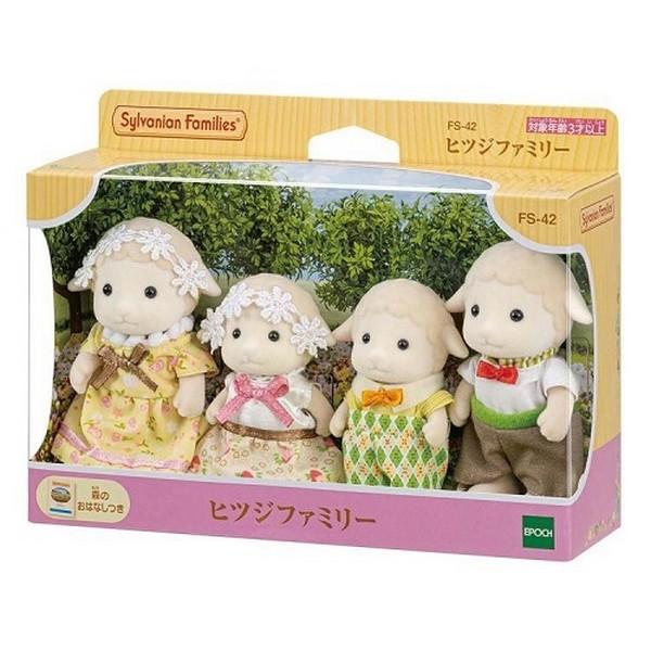 綿羊家庭組/EP14744 森林家族系列 綿羊家庭組/EP14744 森林家族系列
