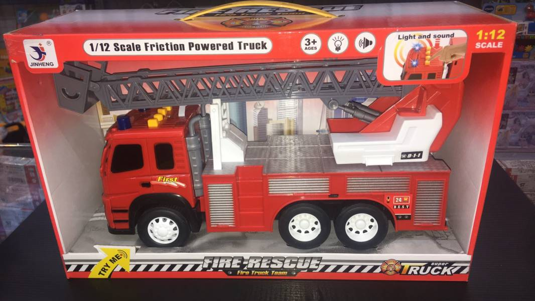 慣性消防雲梯車/1188-6 慣性消防雲梯車,1188-6