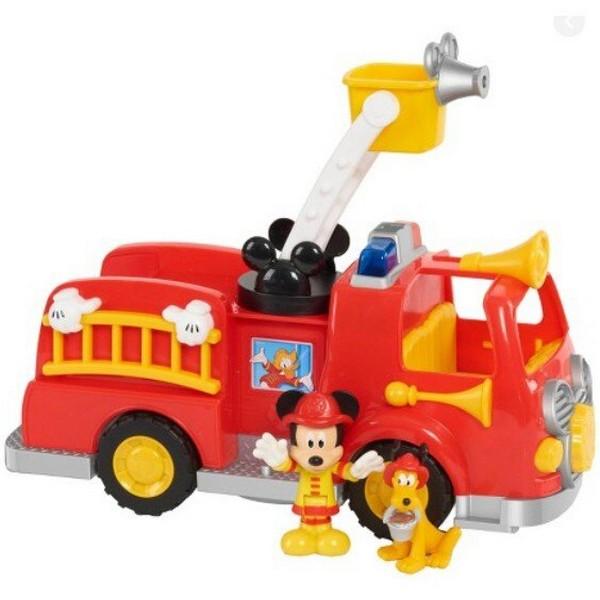 米奇聲光消防救援車/JP38551 迪士尼系列,米奇聲光消防救援車