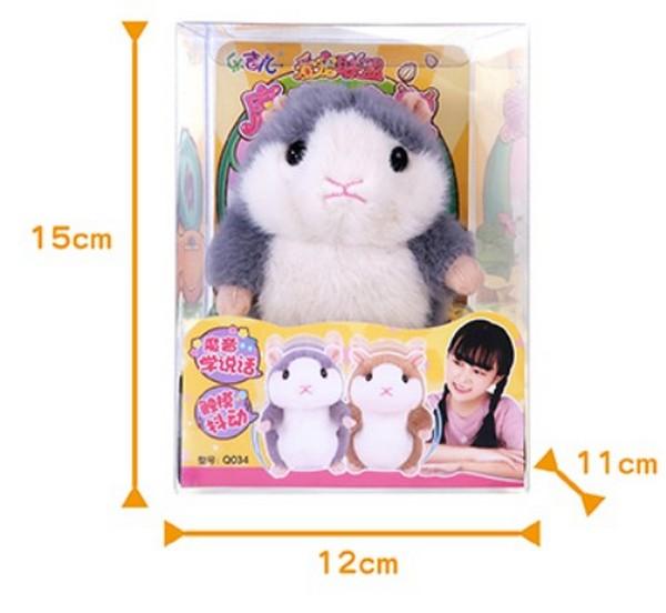 魔音小倉鼠(會震動.發聲)-回音小倉鼠 魔音小倉鼠,震動發聲,回音,小倉鼠