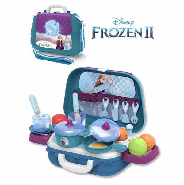 DS913A 冰雪厨房2合1廚房玩具背包 DS913A 冰雪厨房2合1廚房玩具背包